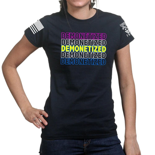 Ladies Demonetized T-shirt