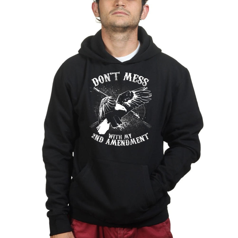 Unisex Mess With The 2nd Amendment Hoodie