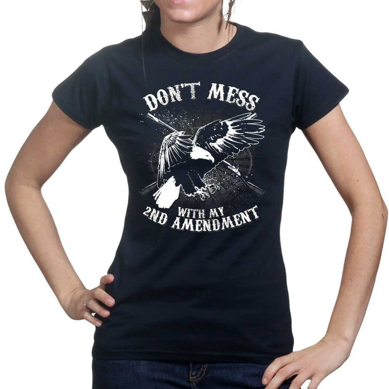 Ladies Mess With The 2nd Amendment T-shirt
