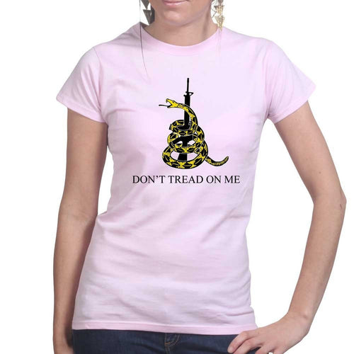 Don't Tread On Me Ladies T-shirt