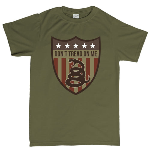 Don't Tread On Me (Shield) Men's T-shirt