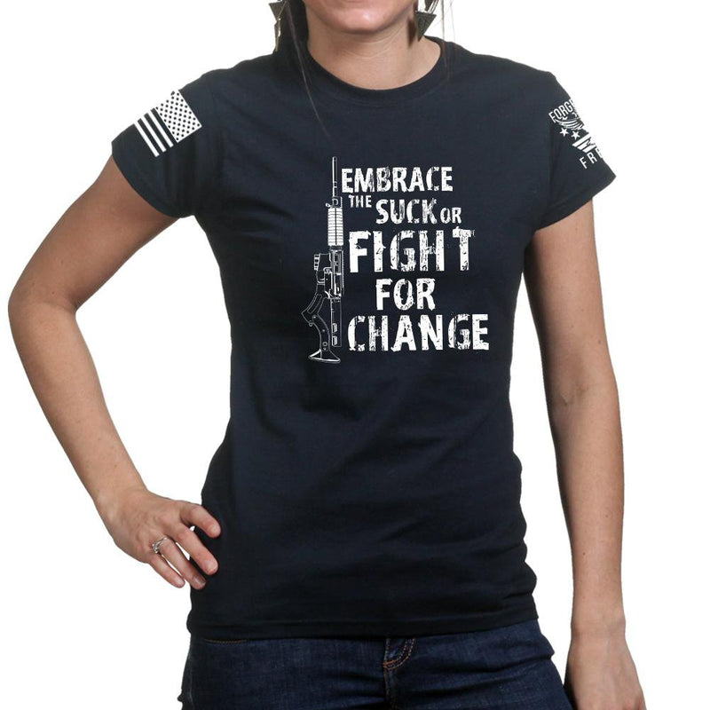 Embrace The Suck Ladies T-shirt