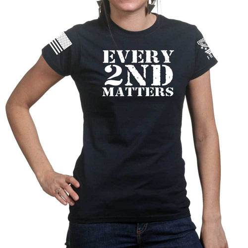 Every 2nd Matters Ladies T-shirt