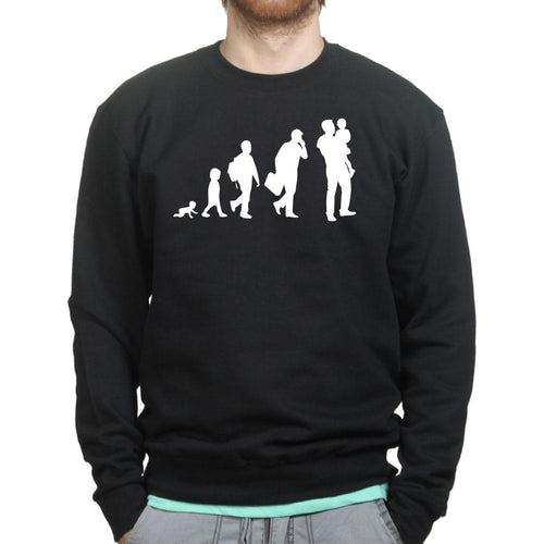 Evolution of Dad Sweatshirt