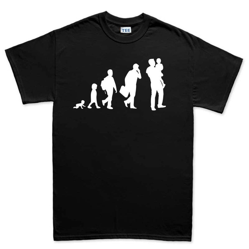 Evolution of Dad Men's T-shirt