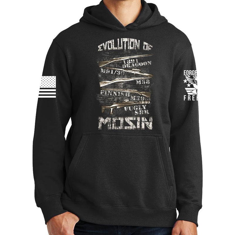 Evolution of Mosin Hoodie