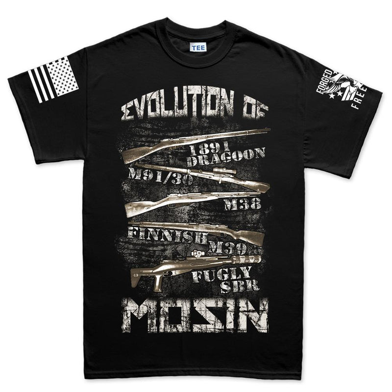Evolution of Mosin Men's T-shirt