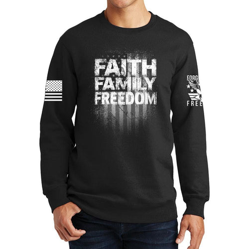 Faith Family Freedom Sweatshirt