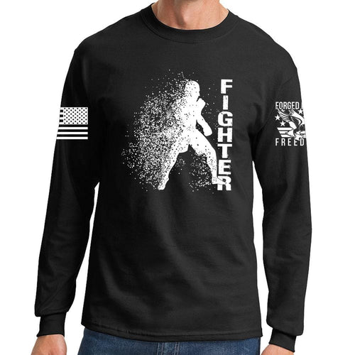 Fighter Silhouette Long Sleeve T-shirt