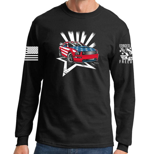 American Paint Job Long Sleeve T-shirt