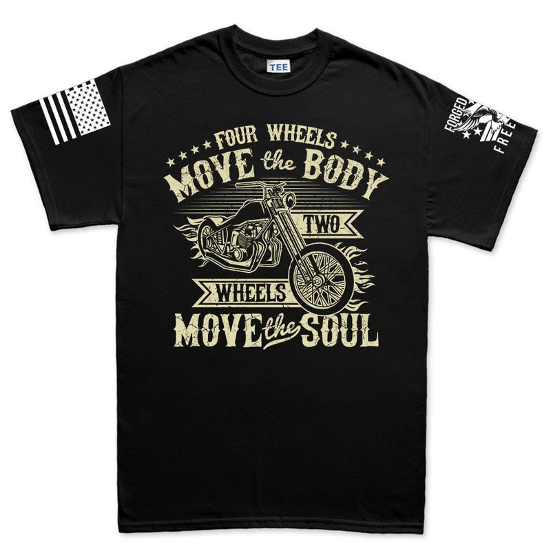 Four Wheels Move The Body Men's T-shirt