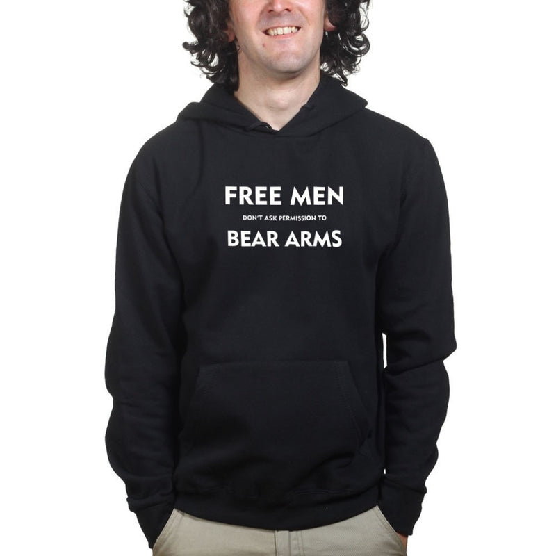 Free Men Don't Ask Permission Mens Hoodie