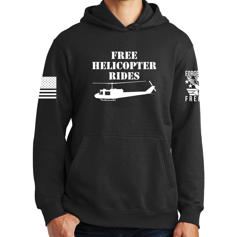 Free Helicopter Rides Hoodie