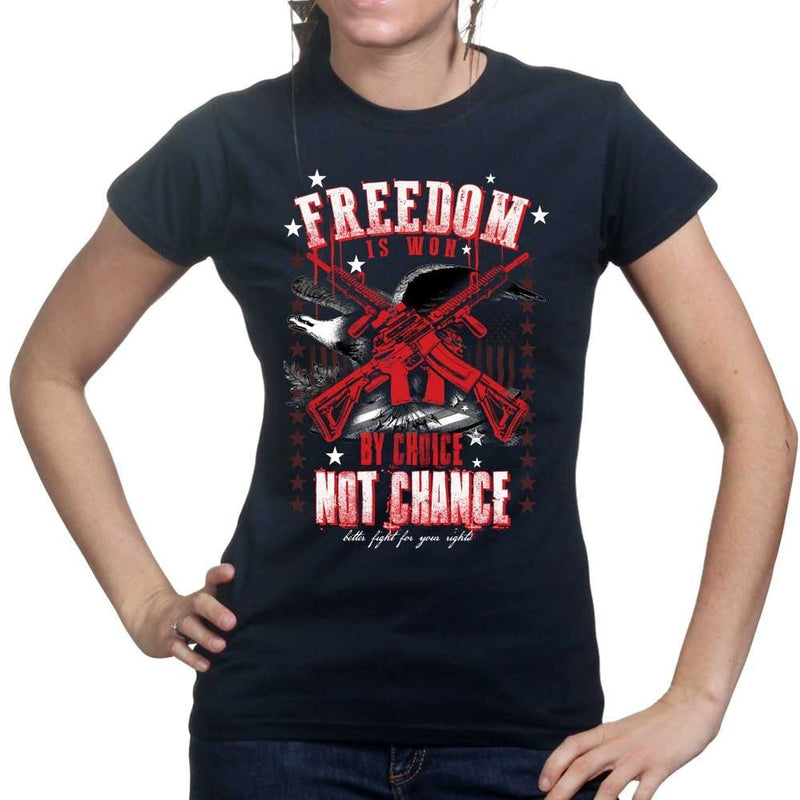 Ladies Freedom is By Choice T-shirt
