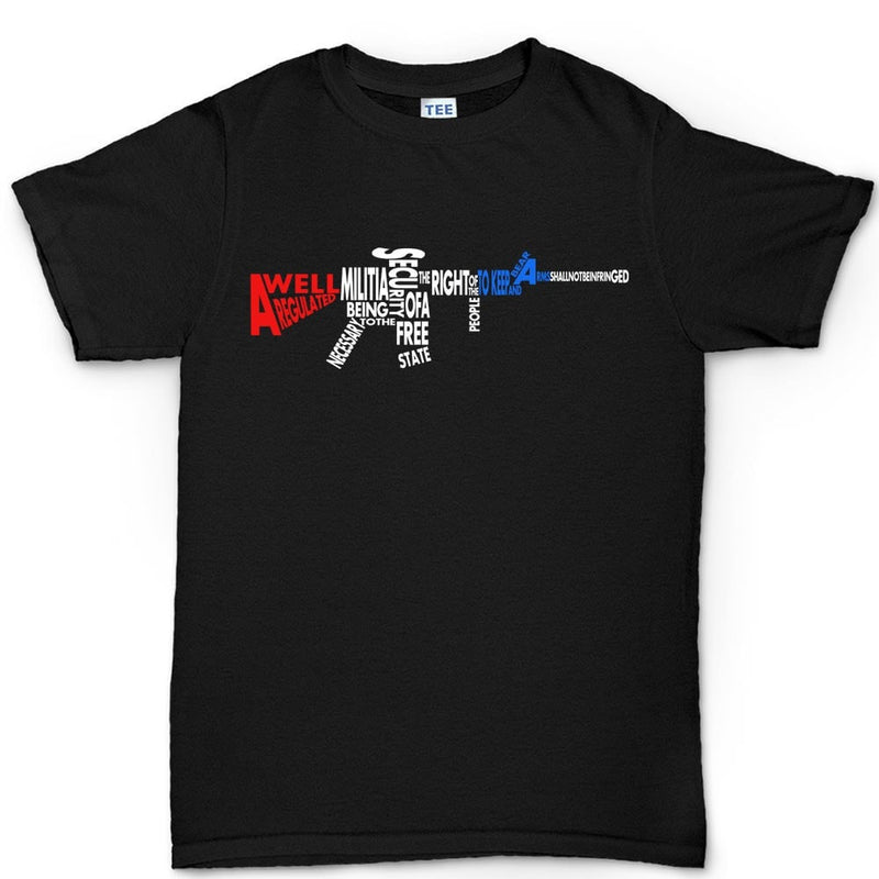 A Well Regulated Militia Rifle Men's T-shirt