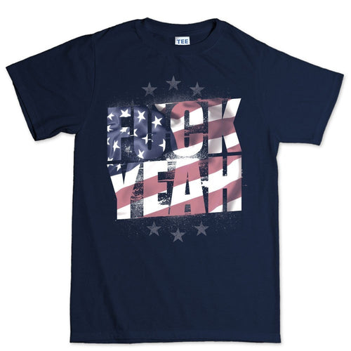 Men's F**K Yeah American Flag T-shirt
