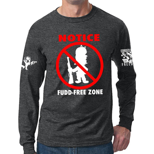 Fudd Free Zone Long Sleeve T-shirt