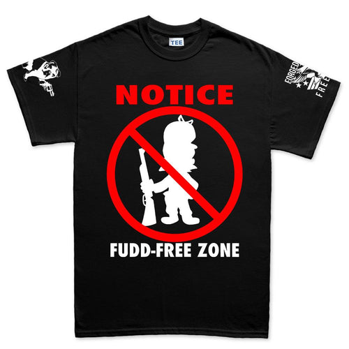 Fudd Free Zone Men's T-shirt