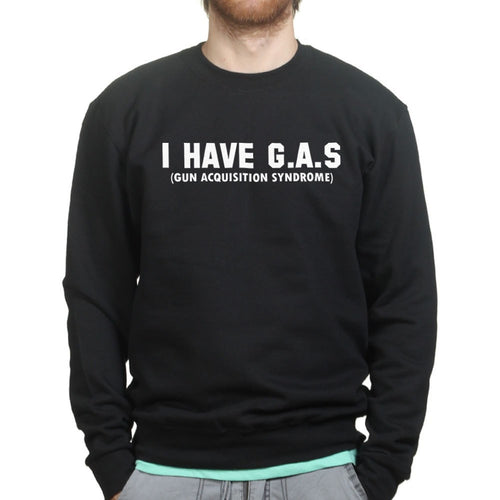 G. A. S. Gun Acquisition Syndrome Mens Sweatshirt
