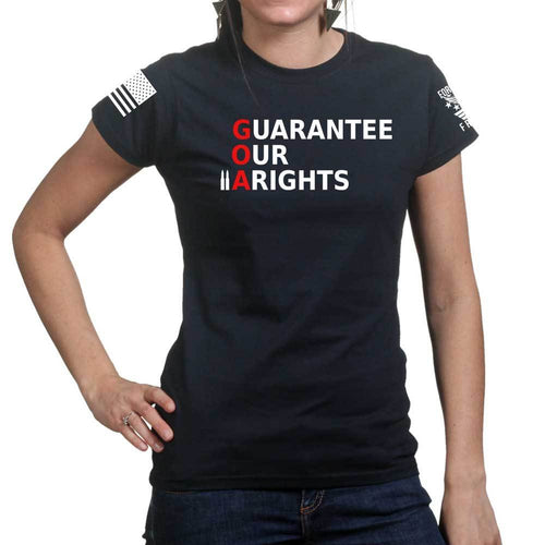 Guarantee Our 2A Rights Ladies T-shirt