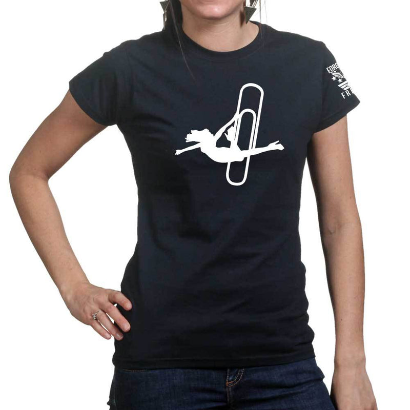 Stripper Clip Ladies T-shirt