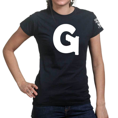 Gun Websites Official Logo Ladies T-shirt