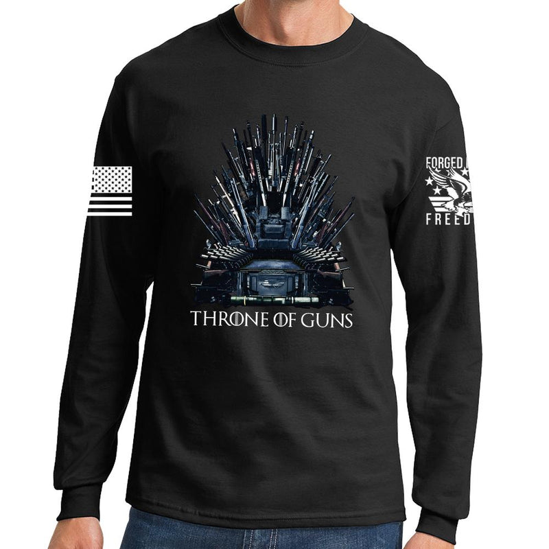 Throne of Guns Long Sleeve T-shirt