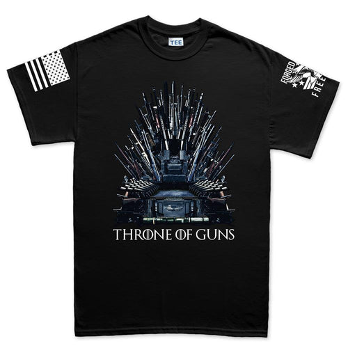 Throne of Guns Men's T-shirt