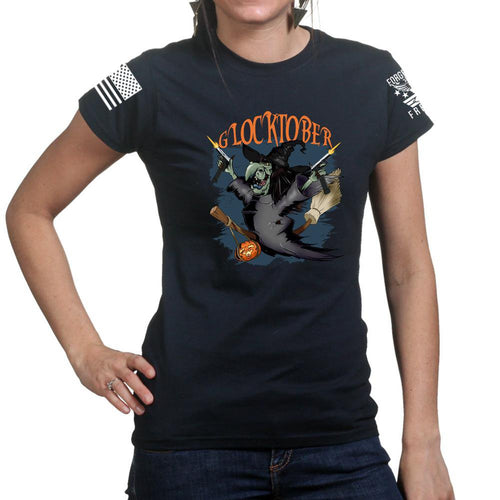 Glocktober Halloween Ladies T-shirt