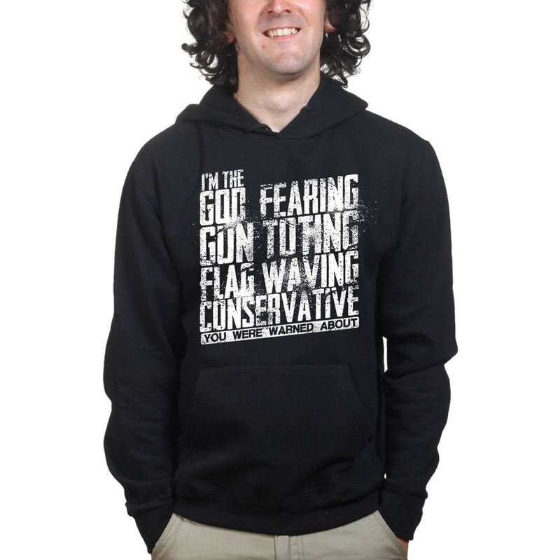Unisex You Were Warned About Me Hoodie