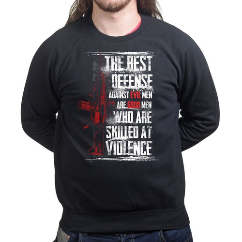 Unisex Skilled At Violence Sweatshirt