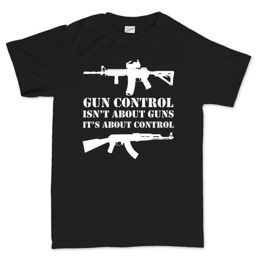 Gun Control Men's T-shirt