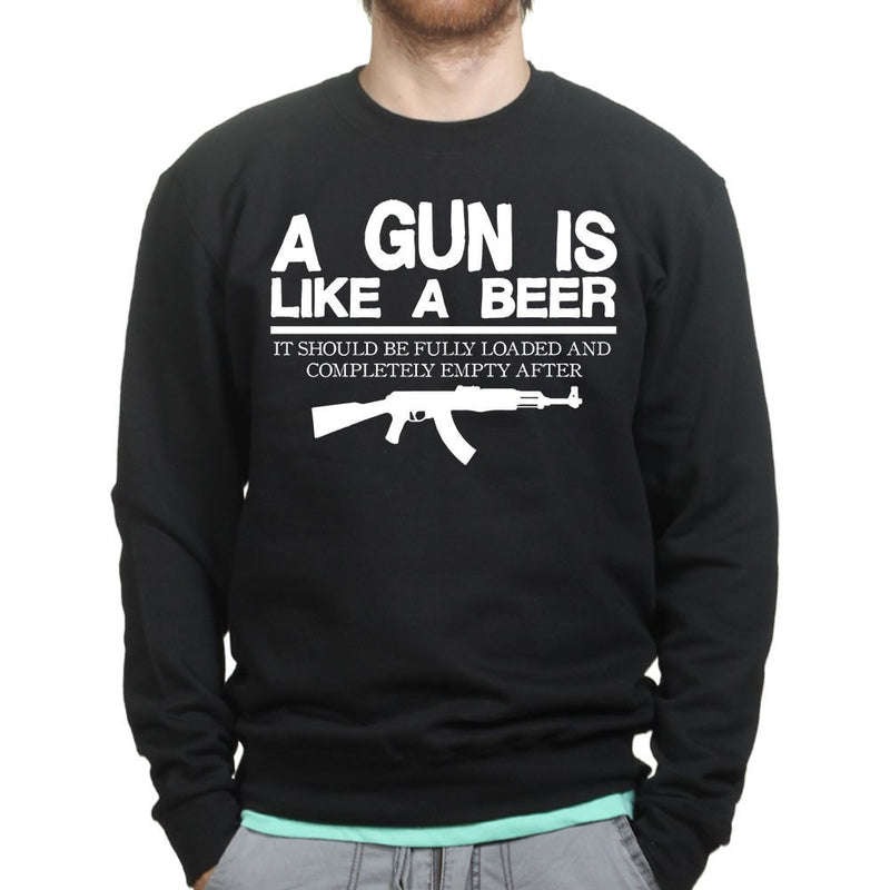 Unisex Guns & Beer Sweatshirt