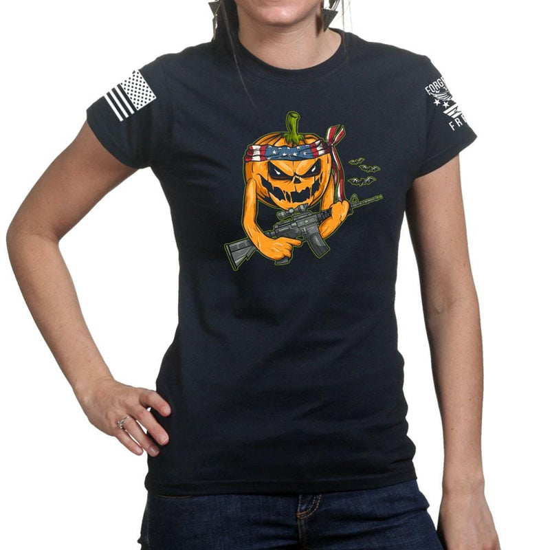 Ladies Tactical Pumpkin T-shirt