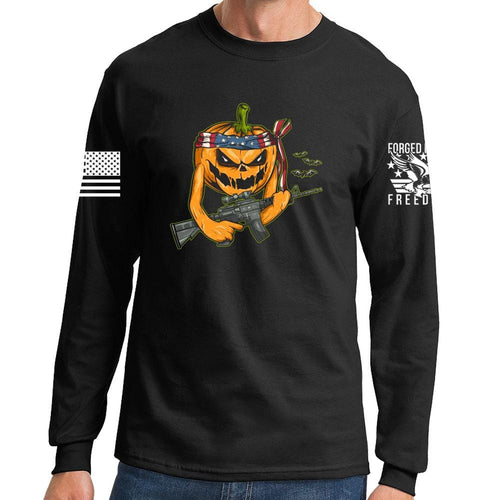 Long Tactical Pumpkin Sleeve T-shirt
