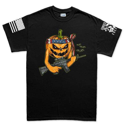 Mens Tactical Pumpkin T-shirt