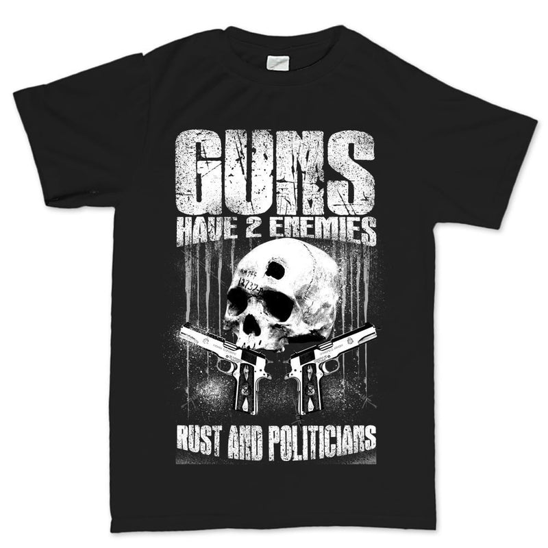 Men's Gun Enemies T-shirt
