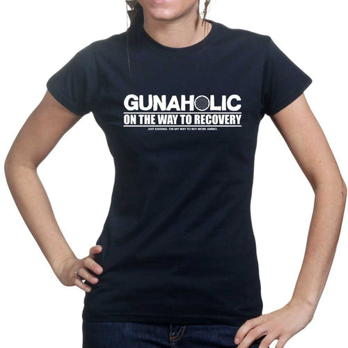 Gunaholic Ladies T-shirt