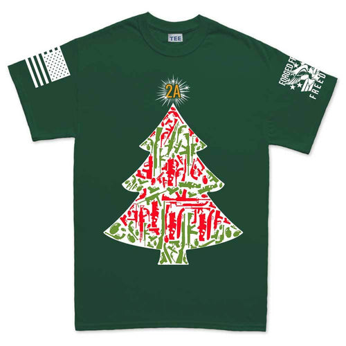 2A Christmas Tree Men's T-shirt