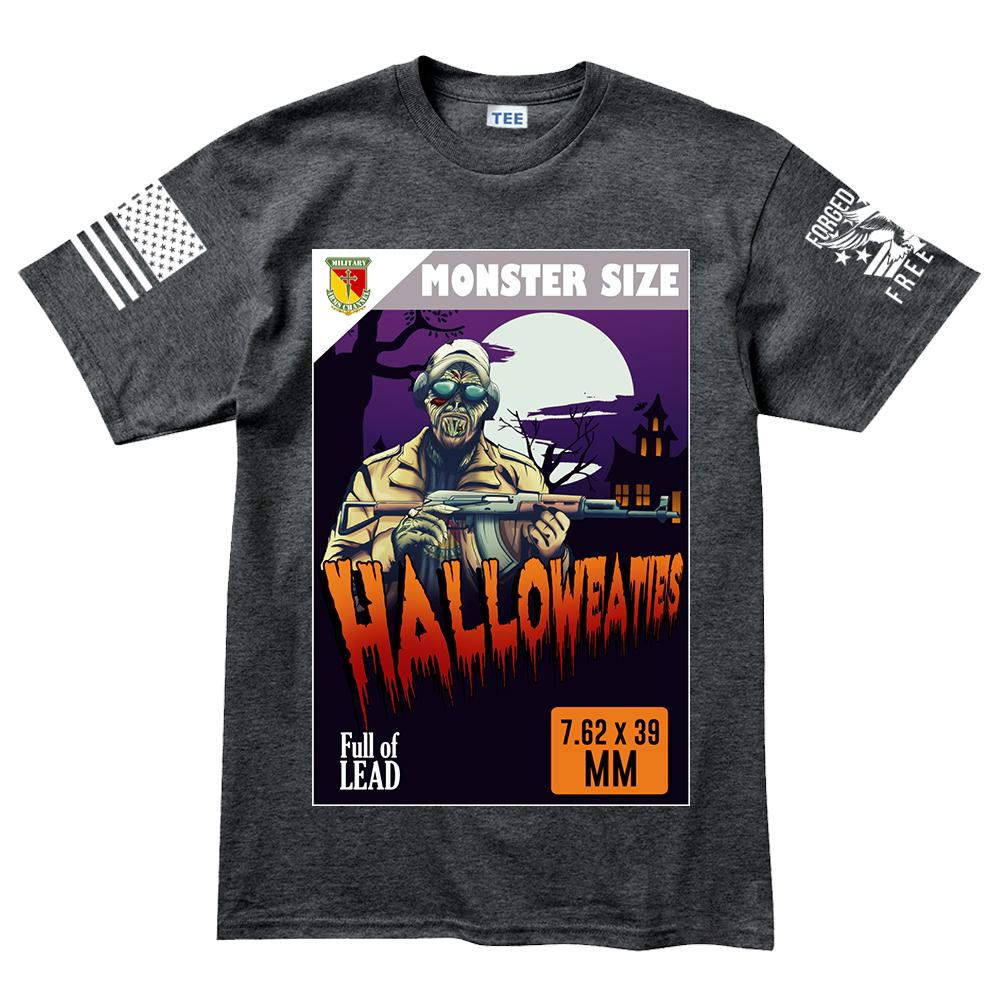 halloweaties mac halloween men's t-shirt – forged from freedom