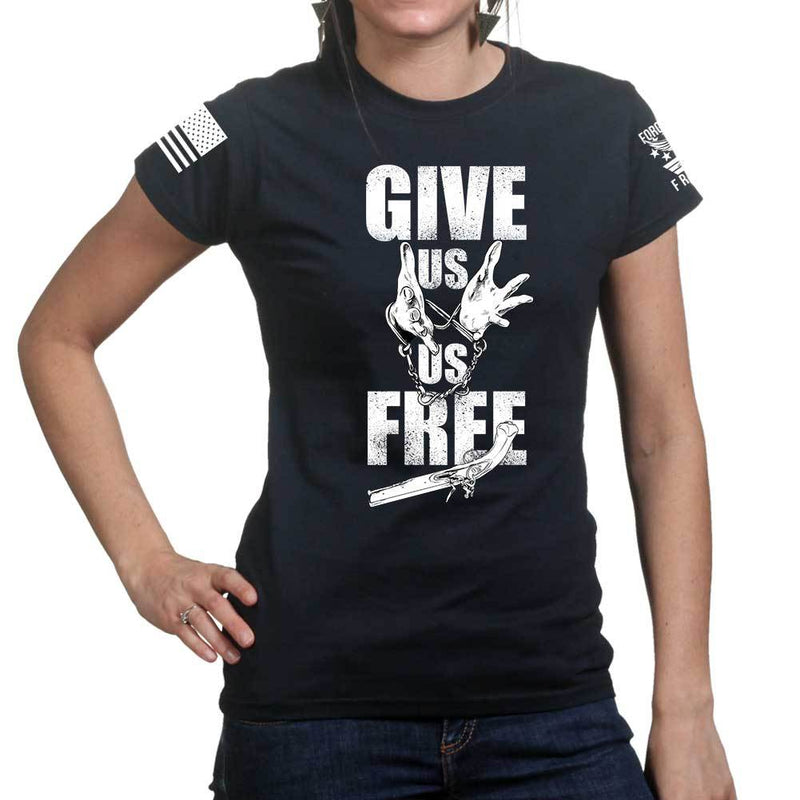 Give Us Us Free Ladies T-shirt