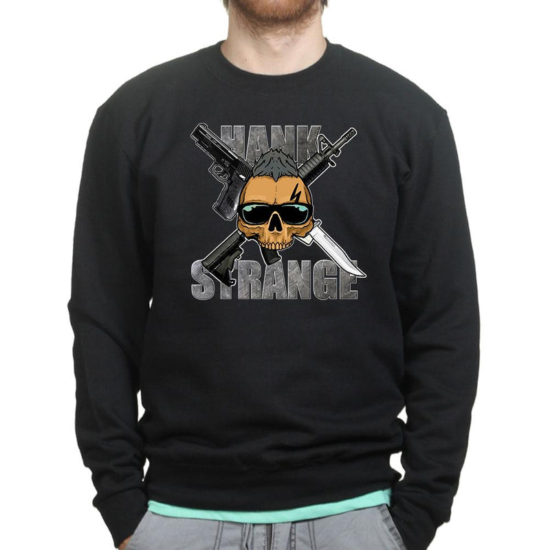 Hank Strange Situation Skull Sweatshirt