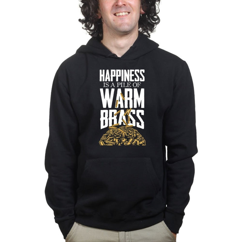 Happiness Is A Pile Of Warm Brass Hoodie