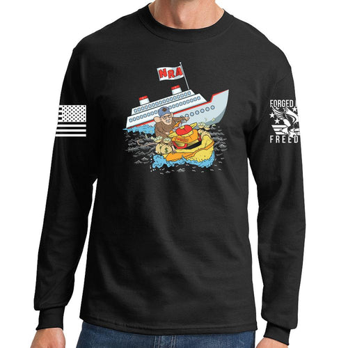 Sinking Ship Long Sleeve T-shirt