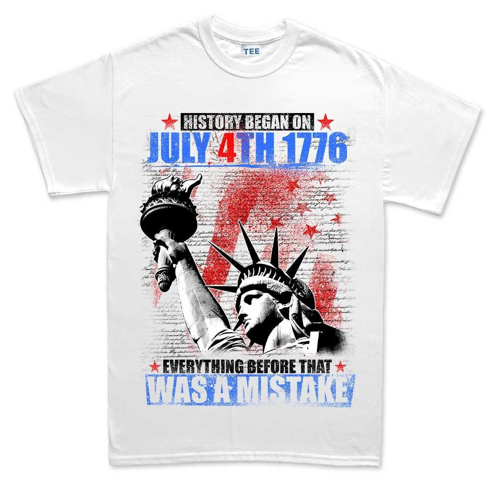 e623724f3e37 Men's History Began 4th of July T-shirt – Forged From Freedom