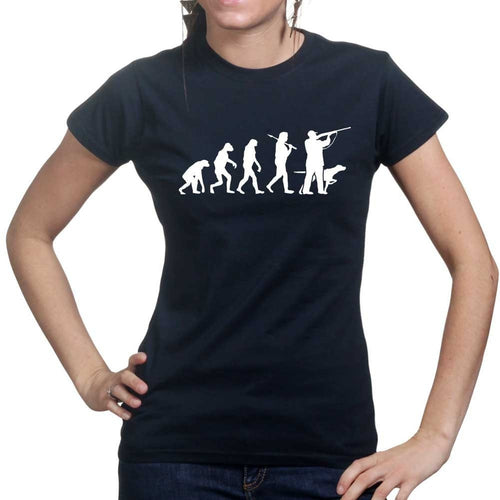 Evolution Of A Hunter Ladies T-shirt