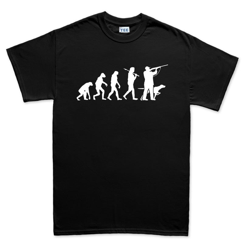 Evolution Of A Hunter Men's T-shirt