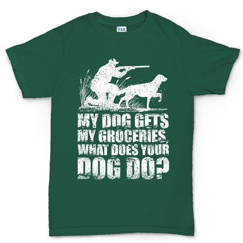 My Hunting Dog Men's T-shirt