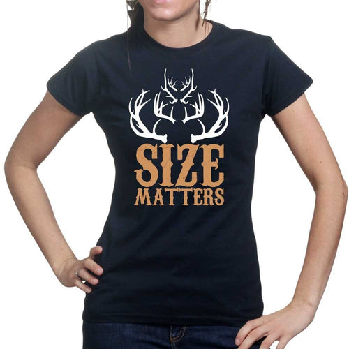 Size Matters (Hunting) Ladies T-shirt