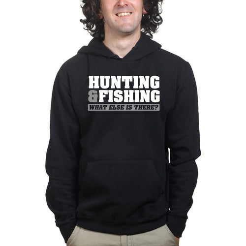 Hunting and Fishing Mens Hoodie